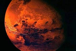 A file photo handout of the European Space Agency ESA shows a visualisation of Mars, created from spacecraft imagery. The European Space Agency is looking for volunteers to make a pretend trip to Mars. REUTERS/Ho/European Space Agency