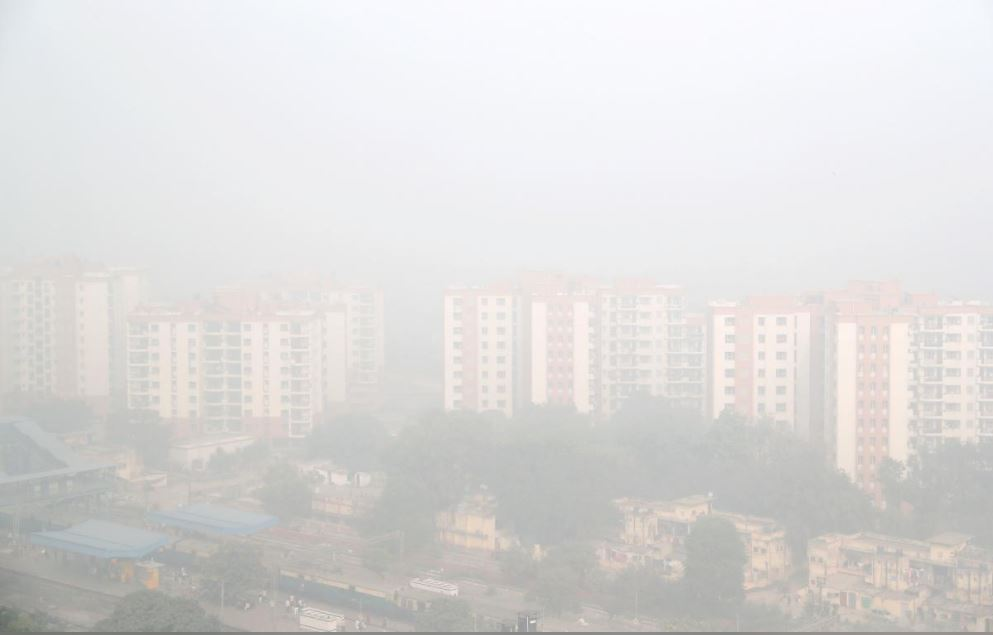 Smog in Delhi Pollution on 10 November 2017 Rauters