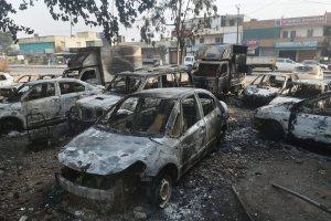 इस साल के पहले दिन पुणे ज़िले के भीमा-कोरेगांव में हिंसा. (फाइल फोटो: पीटीआई)