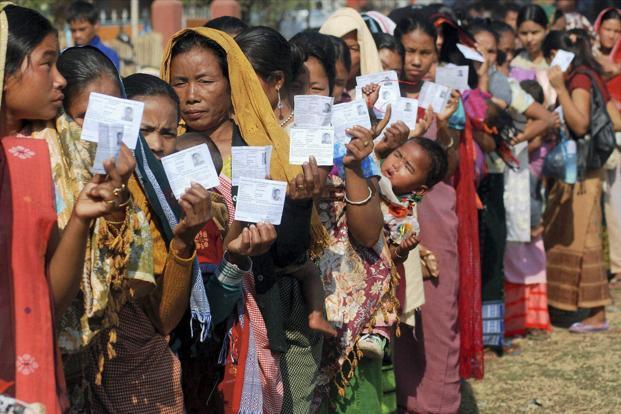 Women Voters Meghalaya PTI