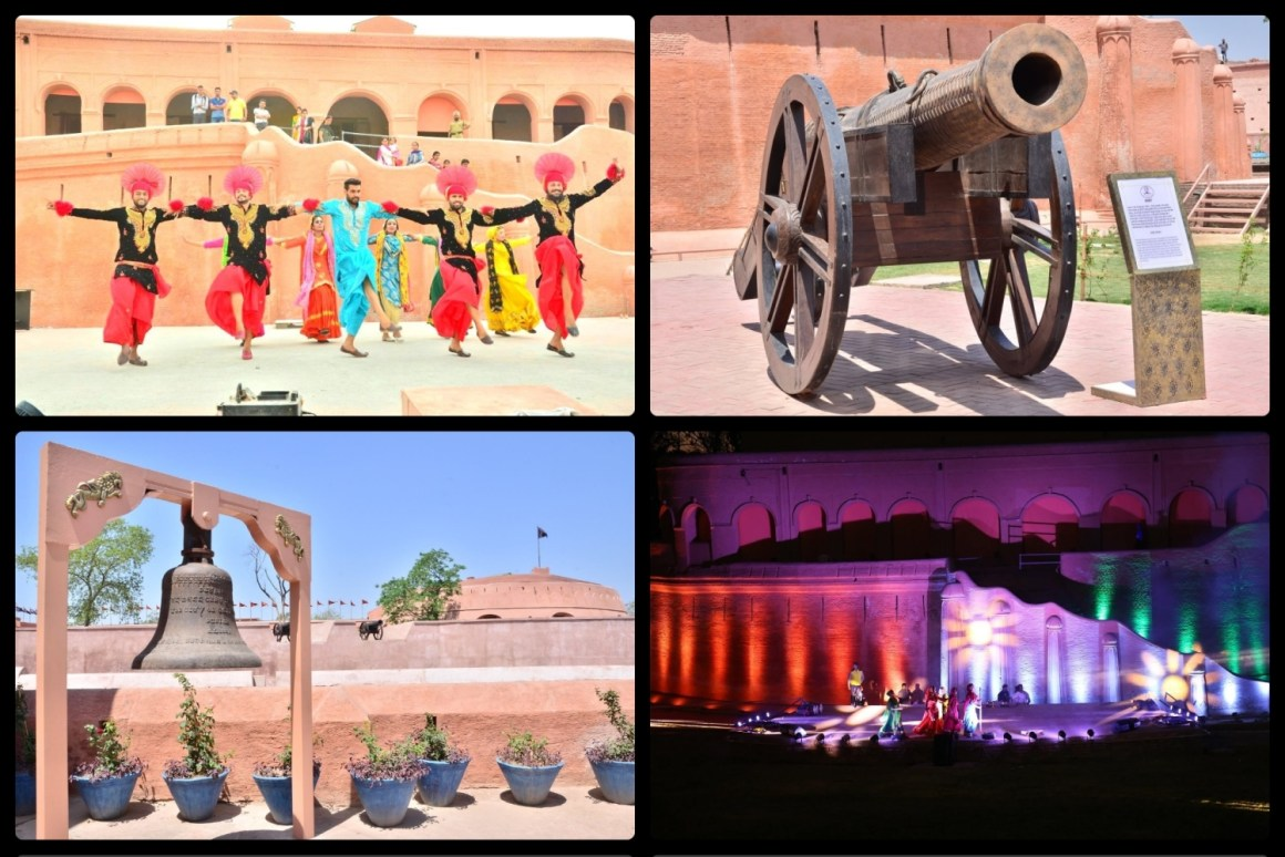 Gobindgarh Fort Collage