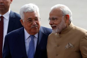 Mahmoud-Abbas-of-Palestine-PM-Modi Reuters
