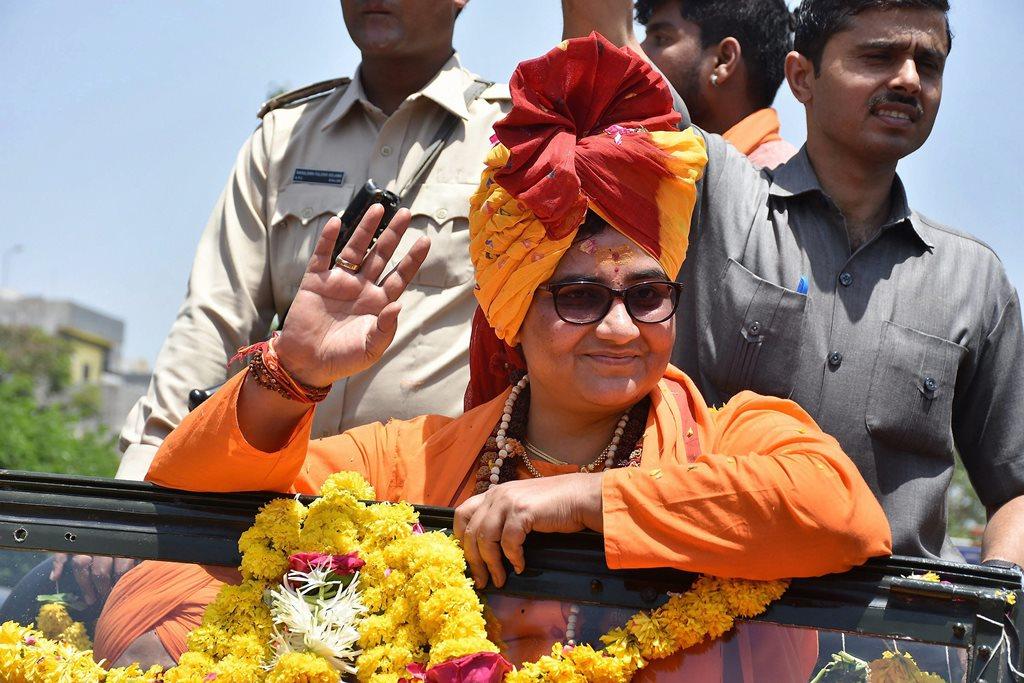 साध्वी प्रज्ञाको प्रत्याशी बना भाजपा देखना चाहती है कि हिंदुओं कोकितना नीचे घसीटा जा सकता है