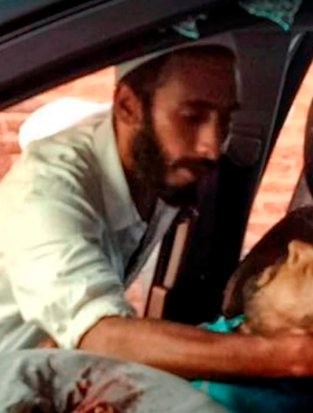 Srinagar: In this image released by police is seen the alleged fourth suspect involved in yesterday's terror attack on Rising Kashmir newspaper editor Shujaat Bukhari, in Srinagar, on June 15, 2018. (PTI Photo)(PTI6_15_2018_000181B)