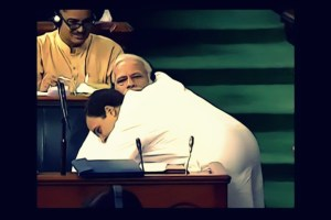Rahul-Gandhi-Modi Hug PTI