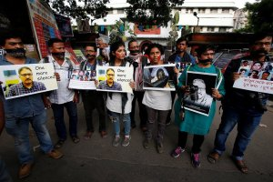 Shujat Murder Journalist Protest Reuters