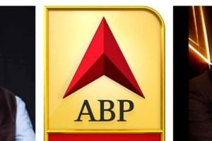 एबीपी न्यूज़ के एडिटर-इन-चीफ मिलिंद खांडेकर (बाएं) और पत्रकार पुण्य प्रसून बाजपेयी (फोटो साभार: ट्विटर)