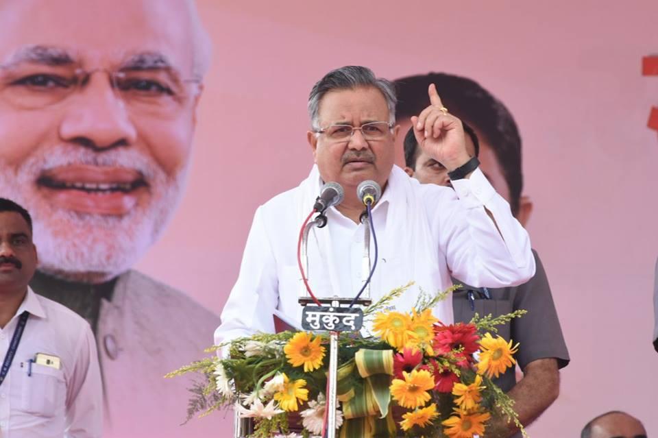 छत्तीसगढ़ के मुख्यमंत्री रमन सिंह जिनके नेतृत्व में 15 सालों से राज्य में भाजपा की सरकार है. (फोटो साभार: फेसबुक/ रमन सिंह)
