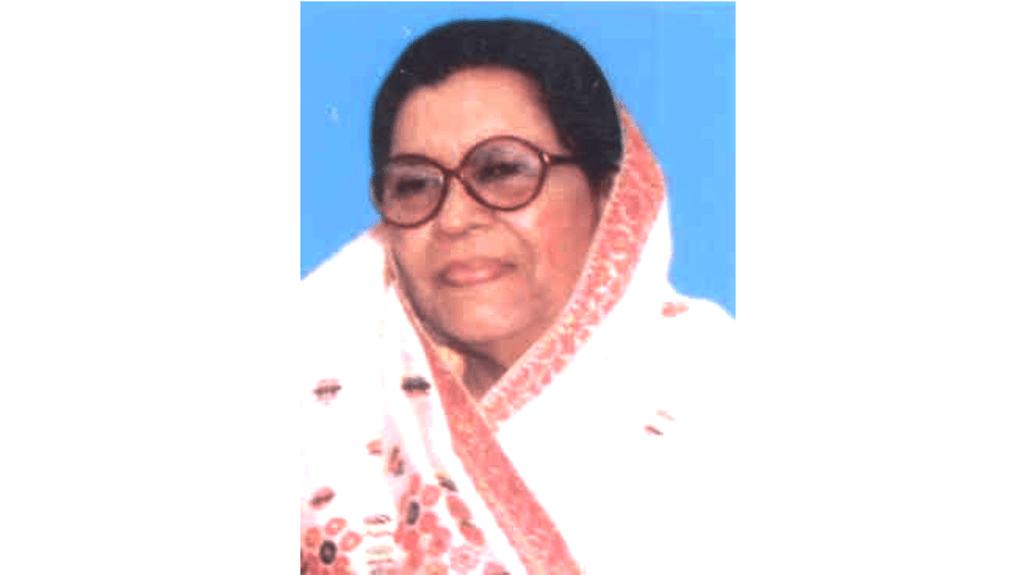 असम की पहली और एकमात्र महिला मुख्यमंत्री सैयदा तैमूर.