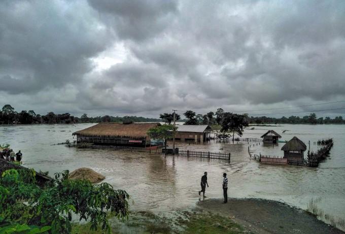 Assam Golaghat Flood PTI