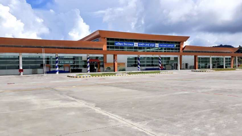 Sikkim Airport Photo Twitter PMO