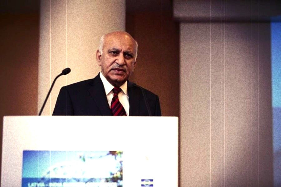 MJ Akbar Facebook