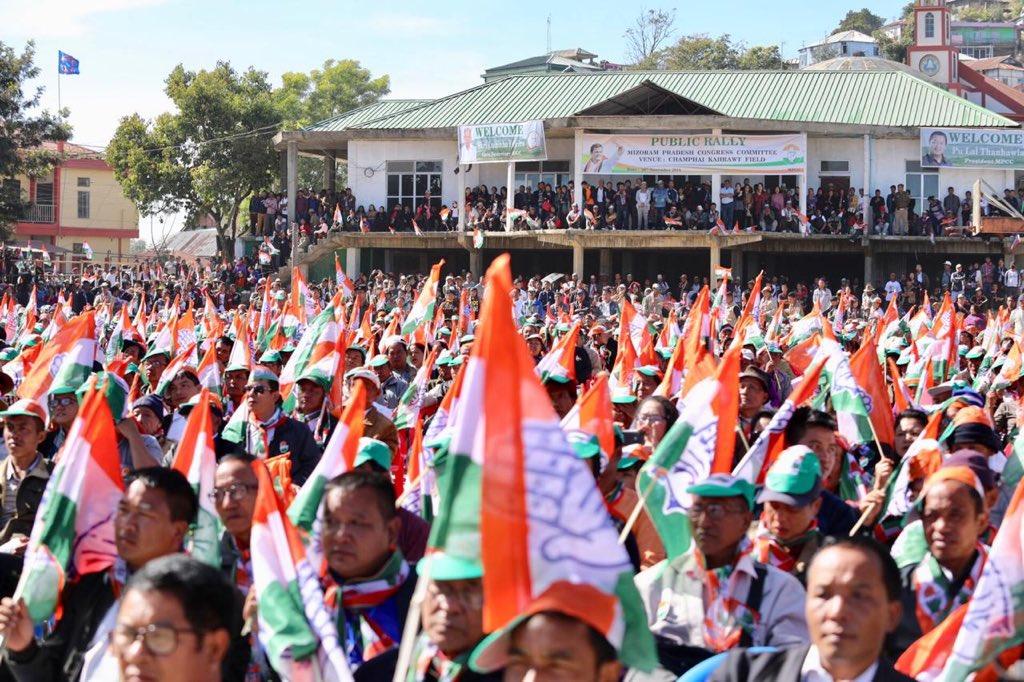 Congress Rahul Gandhi Rally Mizoram 2 Twitter congress