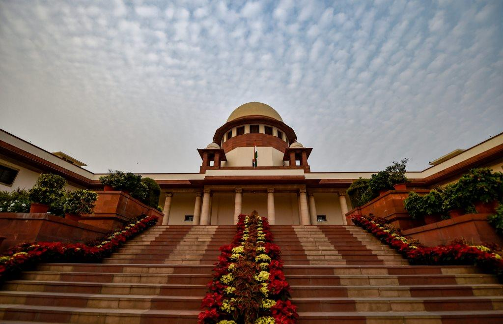 New Delhi: A view of Supreme Court of India in New Delhi, Thursday, Nov. 1, 2018. (PTI Photo/Ravi Choudhary) (PTI11_1_2018_000197B)