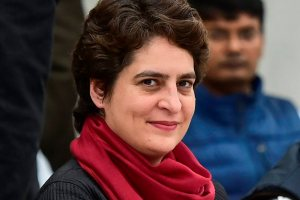 New Delhi: All India Congress Committee (AICC) General Secretary of Uttar Pradesh East Priyanka Gandhi Vadra during the Congress General Secretaries meet, in New Delhi, Thursday, Feb. 07, 2019. (PTI Photo/Arun Sharma) (PTI2_7_2019_000133B)