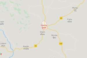Gumla Map