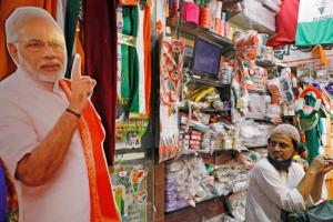 Modi Cut Out election campaign Reuters