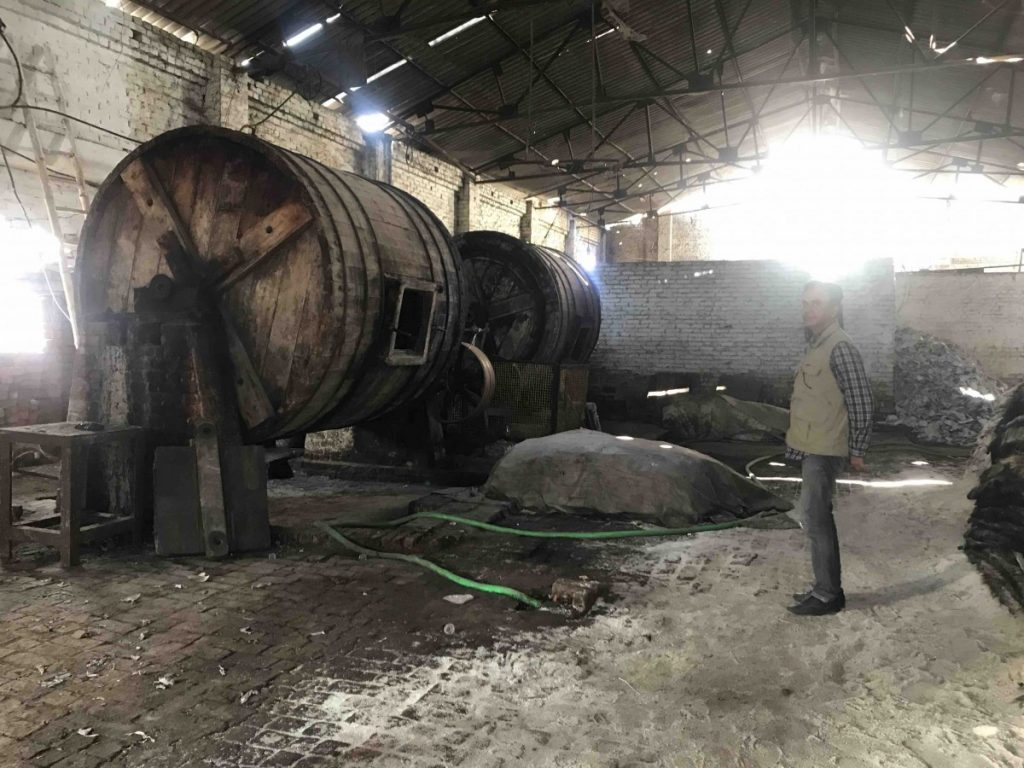 Tannery Machine Photo Manira