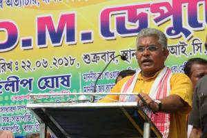 Bengal BJP chief Dilip Ghosh. Photo Facebook