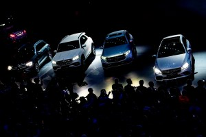 Frankfurt: Cars of the car manufacturer Mercedes are displayed at the IAA Auto Show in Frankfurt, Germany, Tuesday, Sept. 10, 2019. AP/PTI(AP9_10_2019_000097B)