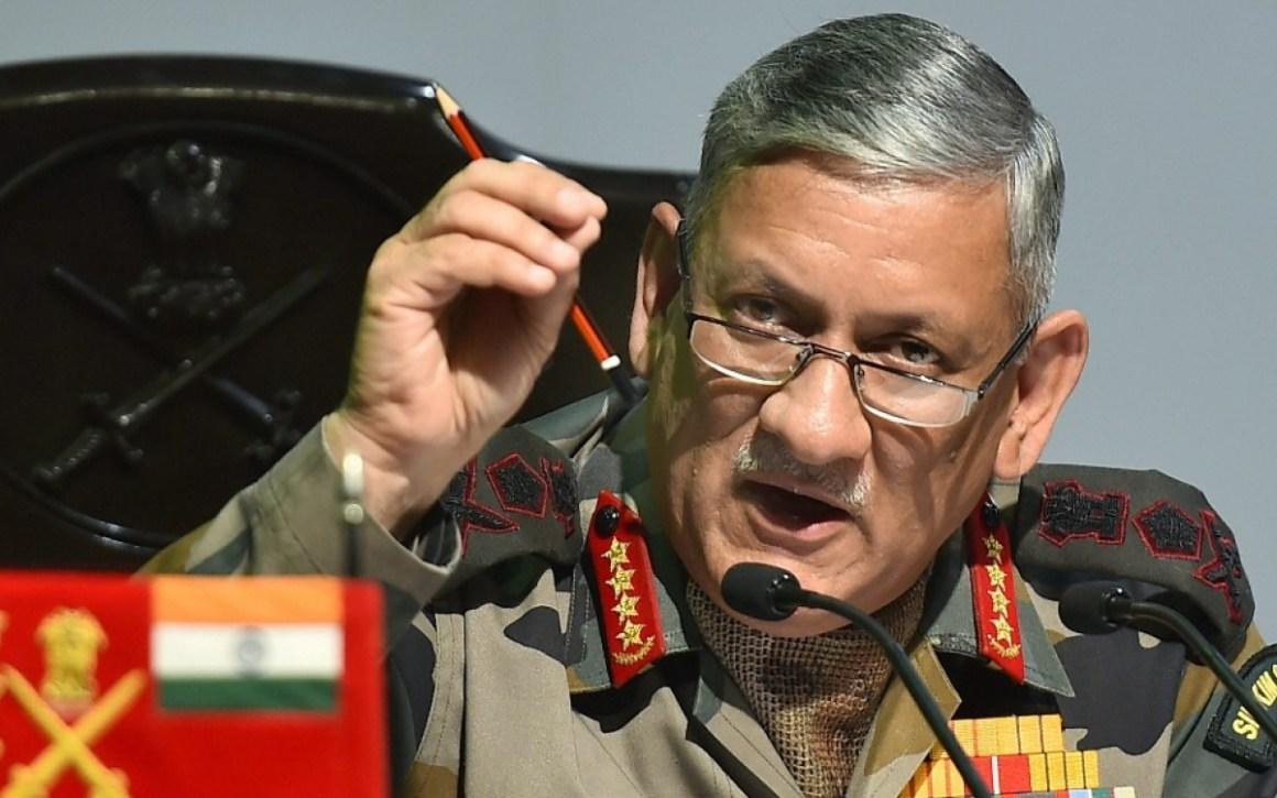 सेना प्रमुख जनरल बिपिन रावत (फोटो: पीटीआई)