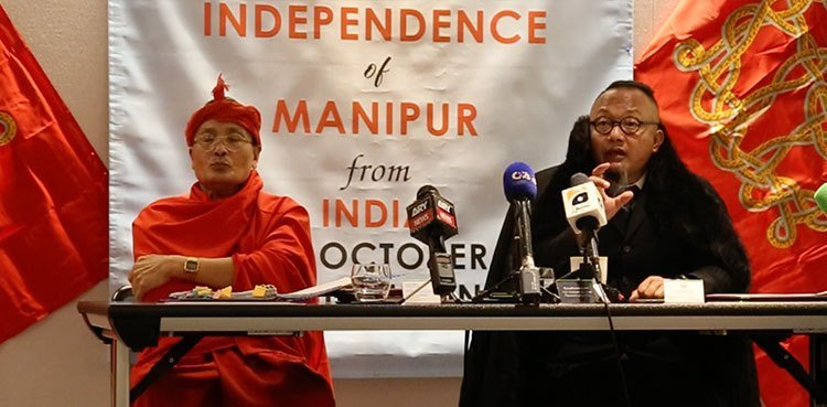 Manipur govt in Exile London