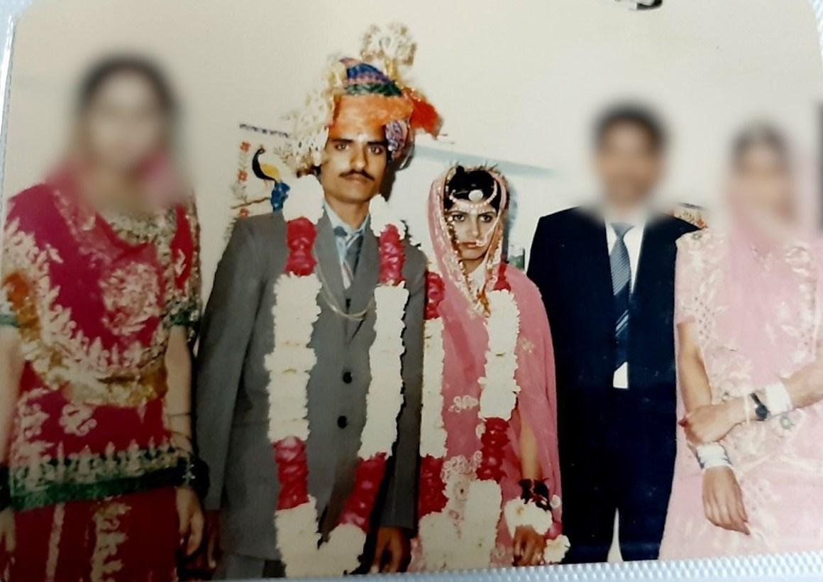 जयपुर में हुई रूप कंवर की शादी की तस्वीर. (फोटो: माधव शर्मा)