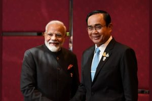 Modi and Prayut Chan-o-cha thailand twitter