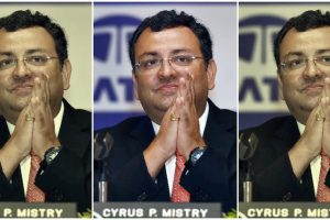 New Delhi: In this Wednesday, Aug. 24, 2016 file picture the then Tata group Chairman Cyrus P Mistry attends the 53rd Annual General Meeting of Tata Global Beverages in Kolkata. The National Company Law Appellate Tribunal on Wednesday, Dec. 18, 2019, ordered restoration of him as the Executive Chairman of Tata Sons. (PTI Photo/Swapan Mahapatra)  (PTI12_18_2019_000106B)