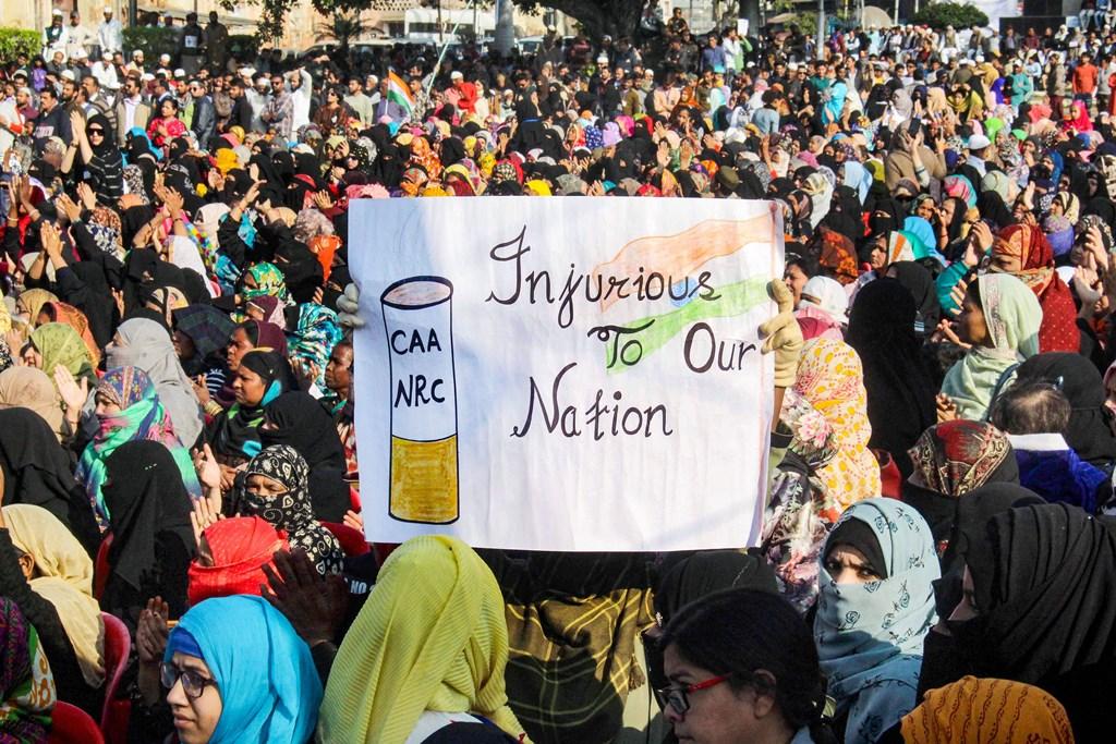भारत के विभिन्न शहरों में नागरिकता संशोधन कानून के खिलाफ लगातार प्रदर्शन चल रहा है. (फोटो: पीटीआई)