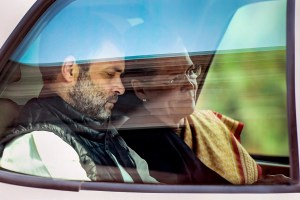 New Delhi: Congress President Sonia Gandhi along with Rahul Gandhi leaves Parliament House after attending proceedings during the Budget Session, in New Delhi, Tuesday, Feb. 11, 2020. (PTI Photo/Subhav Shukla)     (PTI2_11_2020_000088B)