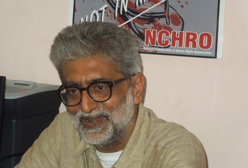 गौतम नवलखा. (फोटो साभार: विकिपीडिया)