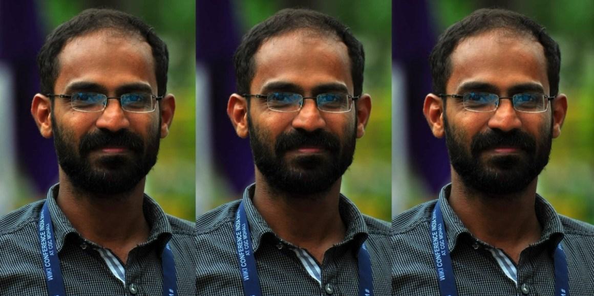 केरल के पत्रकार सिद्दीकी कप्पन. (फोटो साभार: ट्विटर/@vssanakan
