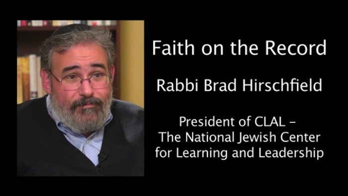 Video: Brad Hirschfield on Nairobi, Peshawar, and the Simchat Torah