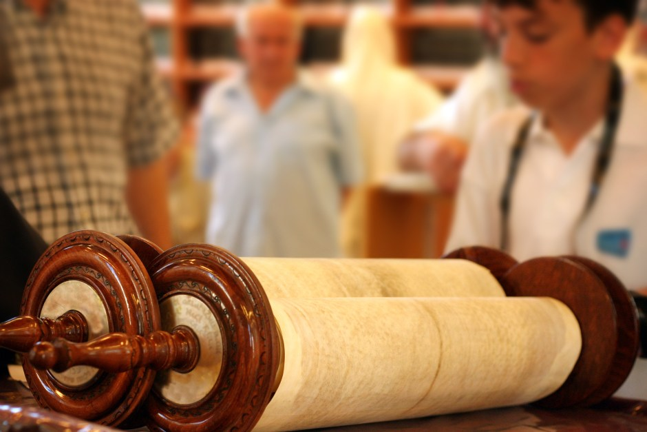To Make A Torah Scroll Or A Community, We Change The Ordinary To Holy