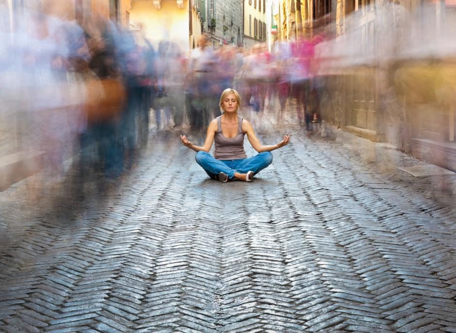 Why I Meditate In Public