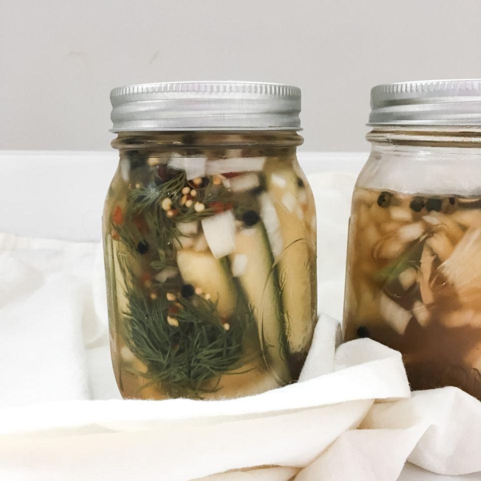 homemade pickle recipe