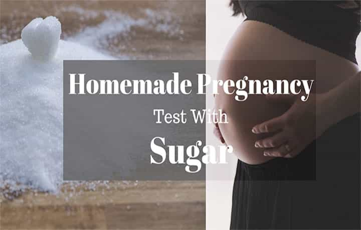 Homemade Pregnancy Test with Sugar