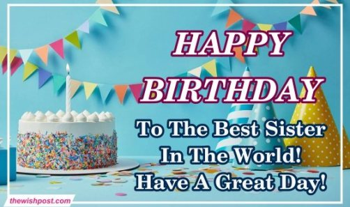 happy-birthday-Wishing-Greeting-images-for-my-best-sister-with-beautiful-cake-wallpaper-picture-free-download