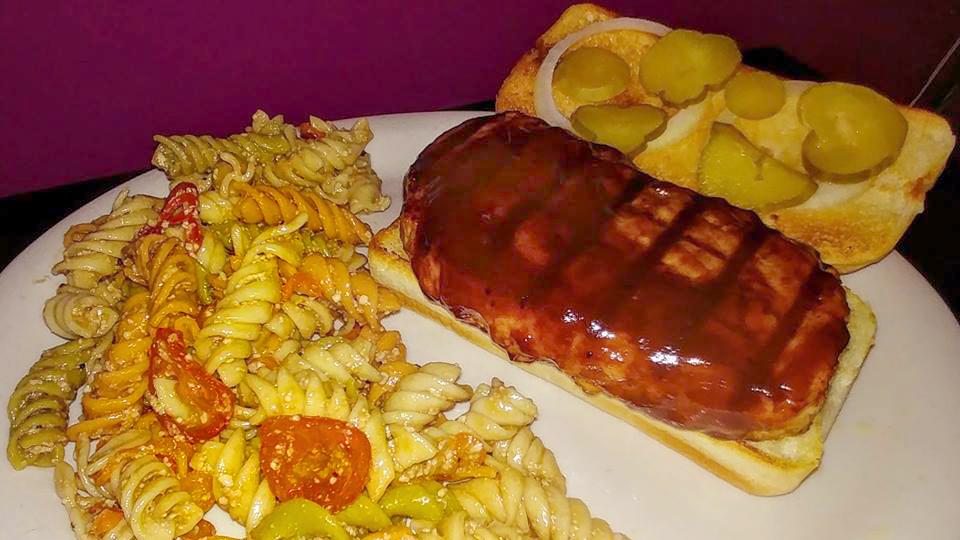 Wistful Willburger pork BBQ sandwich!