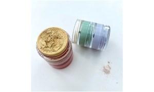 colour corrector stack open with powder
