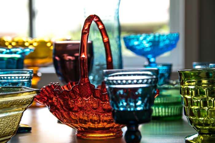 Pressed Glass – One of my favorite thrifty finds