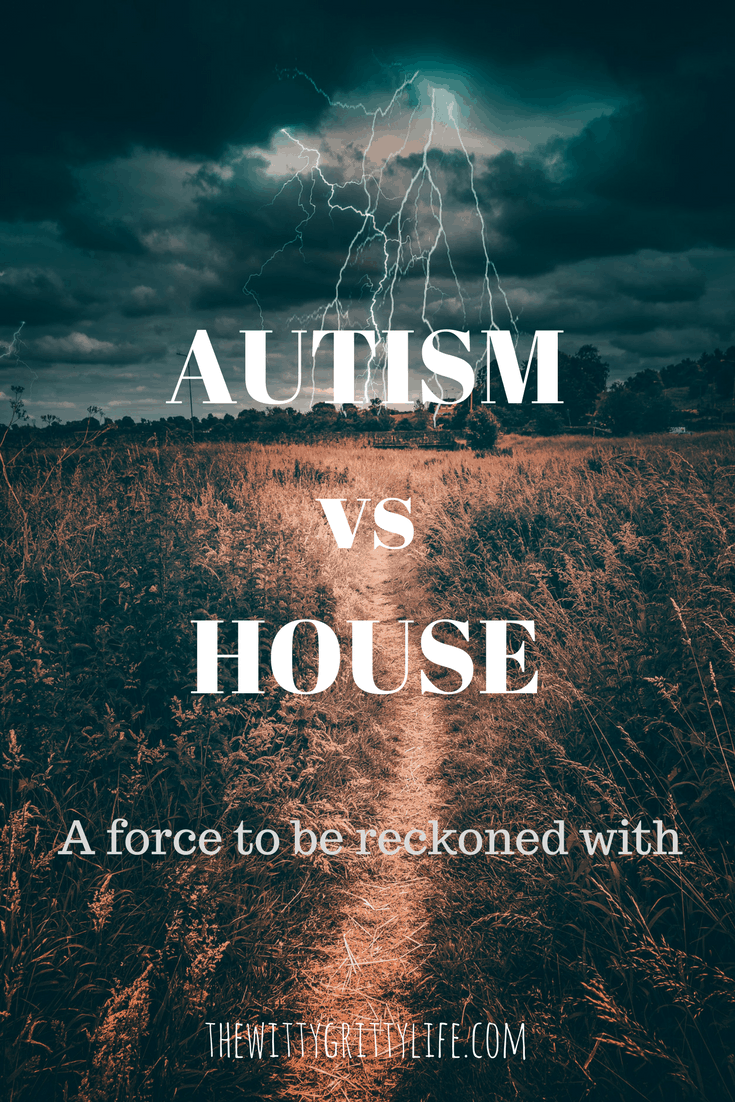 One of the less frequently discussed subjects when it comes to autism is the impact autistic behaviors can have on a house. Take a glimpse at one family's ongoing efforts to keep the house from falling apart!