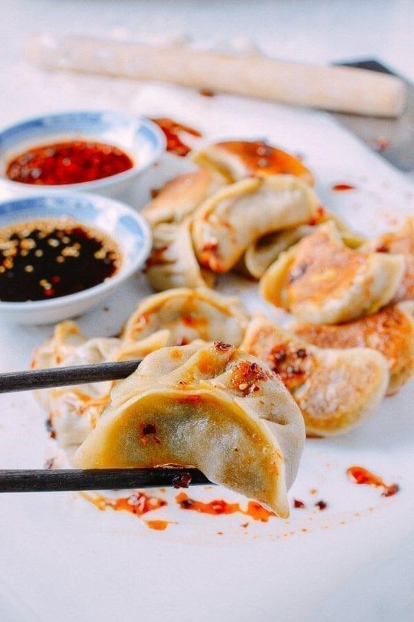 Vegetable Dumplings, by thewoksoflife.com