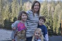 Zoe, Jody, Braelyn, and Sawyer Wilson- January