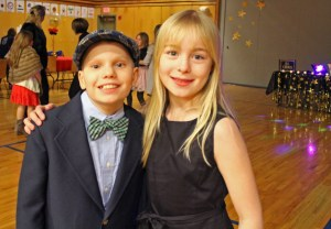 Lower School students at A Night of Hollywood Stars!