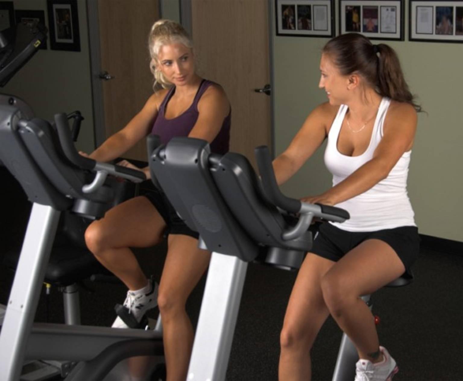 Упражнения на тренажере велосипед для похудения