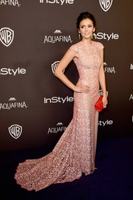 BEVERLY HILLS, CA - JANUARY 10: Actress Nina Dobrev attends InStyle and Warner Bros. 73rd Annual Golden Globe Awards Post-Party at The Beverly Hilton Hotel on January 10, 2016 in Beverly Hills, California. (Photo by Frazer Harrison/Getty Images)