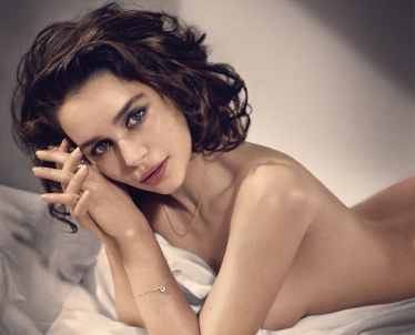 Emilia Clarke The Game of Thrones star and one of the most beautiful women on our time today