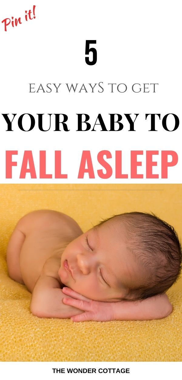 get baby to sleep at night